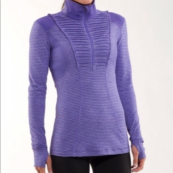 lululemon athletica Jackets & Blazers - Lululemon Run Your Heart Out Pullover